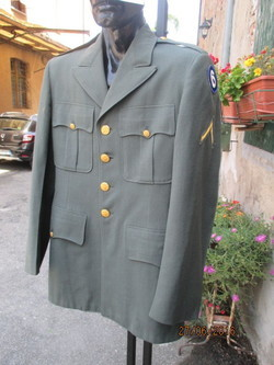Uniforme esercito USA. Ohio, Guardia Nazionale.